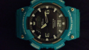 New Casio Tough Solar Light Powered Analog Digital Watch