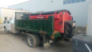 SAFETIED 7.3L diesel dump truck w/ salter
