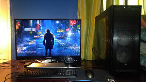 Brand new gaming rig + 3d 120hz gaming monitor