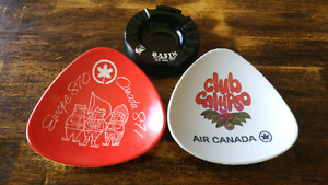 Vintage Air Canada Promotional Plates Ashtray