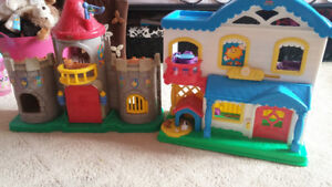Little People Castle and Little People Home