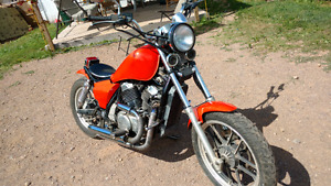 1985 Honda Shadow 500 vt Bobber
