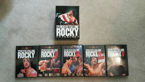 Selling ROCKY BALBOA BOXSET for $25
