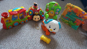 Kids toys Fisher price and V-tech
