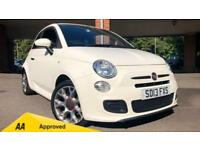 2013 Fiat 500 1.2 S 3dr Manual Petrol Hatchback