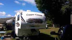 """Roulotte  à  sellette  25.2 """" Copper Canyon 2010"""
