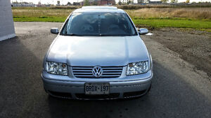 2002 Volkswagen Jetta GLS Sedan Low Km ONlY(82000).