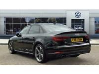 2017 Audi A4 2.0T FSI Black Edition 4dr S Tronic Petrol Saloon Auto Saloon Petro