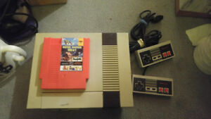 Refurbished NES console with multi-game cartridge
