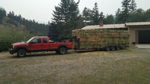 Hay Hauling and Stacking Service