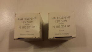 Halogen H7 original OEM Audi Volkswagen Light bulb *** NEW ***
