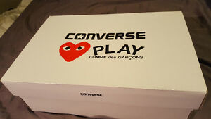 (DS) Play CDG x Converse Chuck Taylor low cut (white)