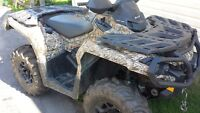 2013 Can Am 650 XT Power steering 5600!!!