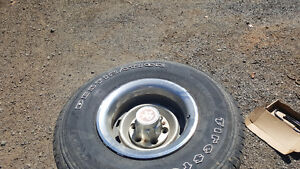 4 15 inch gm 4x4 rally wheels and tires