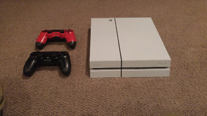 PS4 with Two Controllers | 4 games