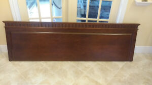 KING SIZE SOLID WOOD HEAD BOARD (HOTEL QUALITY) ***PRICE DROP***