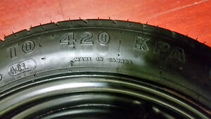 OEM Good year spare tire and wheel (5 Bolt)