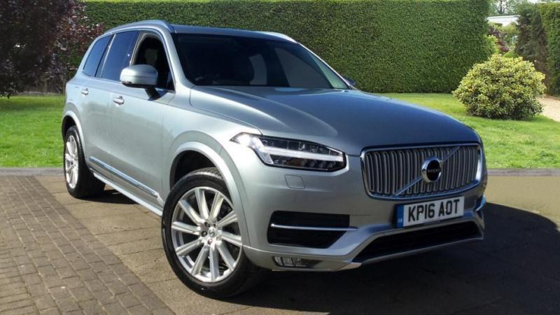 2016 volvo xc90 2 0 d5 inscription awd geartro automatic diesel 4x4 in horsham west sussex. Black Bedroom Furniture Sets. Home Design Ideas