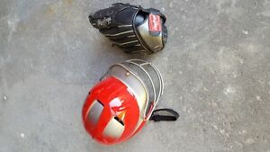 Helmet and Glove