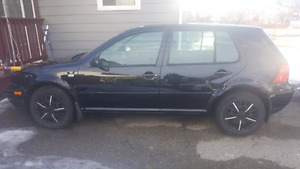 2004 VW Golf hatchback