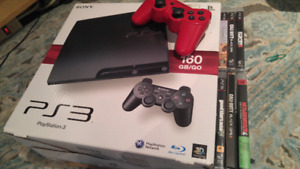 PS3 EXCELLENT CONDITION + 6 GAMES FOR SALE!