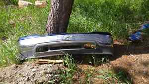2002 GMC front bumper and hood