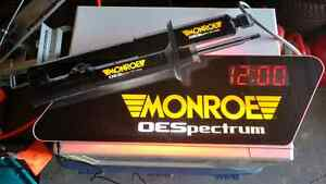 Monroe Light up Sign with Clock!