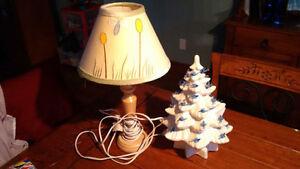 Lampes pour enfants dont une artisanale