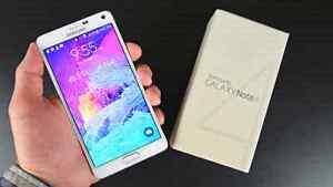 Samsung note 4 32go interne