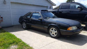 1991 Ford Mustang Lx hatchback foxbody