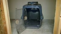 "Pet Crate with Locking Gate 30""x24""x18"""
