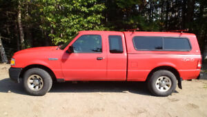 2008 Ford Ranger XL Pickup Truck with accessories