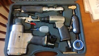 71 pc, Mastercraft air tool set