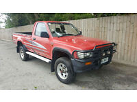 1994 M Toyota HI-LUX 4X4 2.4 DIESEL PICKUP 67k 12MOT