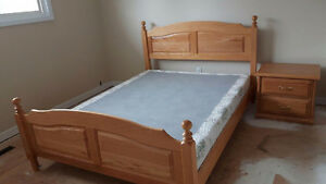 Alberta Made solid oak bedroom set