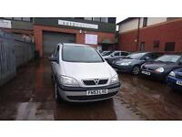 2003 / 53 Vauxhall Zafira 1.8 I 16v Club 5 Door Part Exchange Bargain With MOT