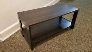 Small Coffee Table, Dark Brown
