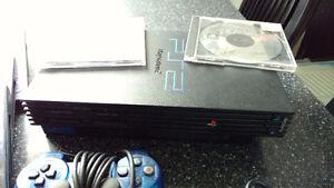 Console Playstation 2 avec 14 jeux