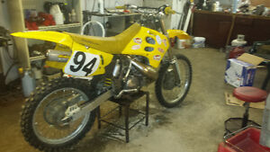 1995 RM 250 with 6 hours on rebuild