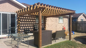 FENCE DECKS PORCHES PERGOLA