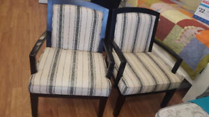 *** USED *** ASHLEY FURNITURE ALENYA ACCENT CHAIRS