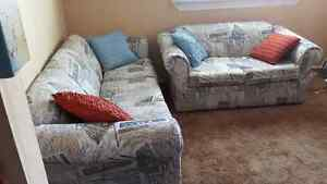Couch, love seat and chair set Cornwall Ontario image 1