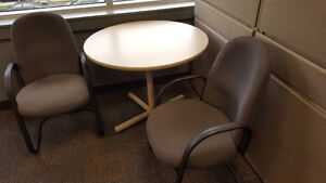 Round Meeting Table Sets