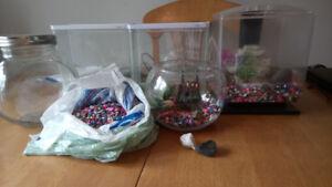 Aquariums et accessoires
