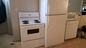 Free to a good home. Read ad please. No fridge or microwave.