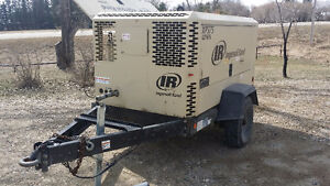 2011 Ingersoll Rand XP 375 Air Compressor