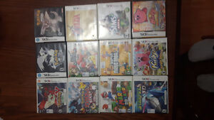 5 ds/ 9 3ds games