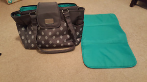 Carter's diaper bag and change pad