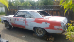 1971 Plymouth Scamp 340/auto with Factory buckets & console