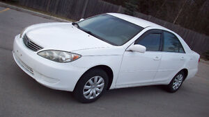 2005 TOYOTA CAMRY LE ... **4 CYLINDER** .. E TEST AND SAFETY